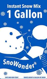 SnoWonder Instant Snow [PO] -CLOSED-