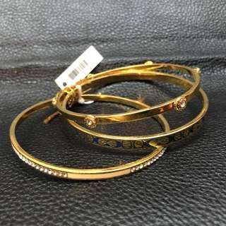 Coach Women's Bracelets 金色手鐲