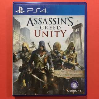 PS4 Assassins Creed Unity 刺客教條