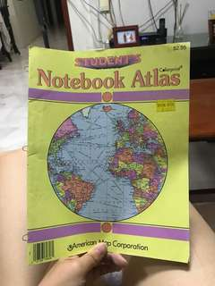 World Atlas (giving away)