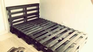 actual bed frame (48x75)
