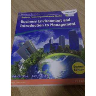 NSS BAFS business environment introduction to managent