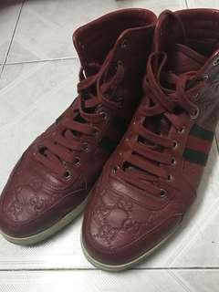男裝GUCCI皮鞋