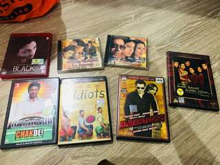 Hindi movies - vcd & dvd