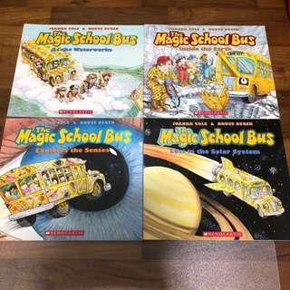 The Magic School Bus series 10 book set