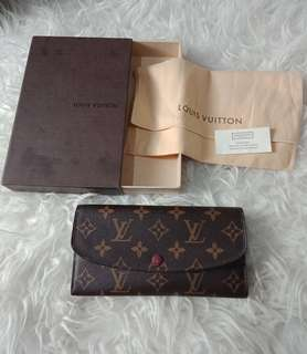 REPRICE!!! Louis vuitton emile Wallet