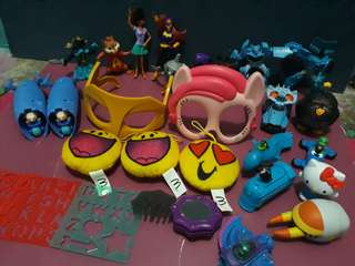 Mcdonals Happy meal collection toys