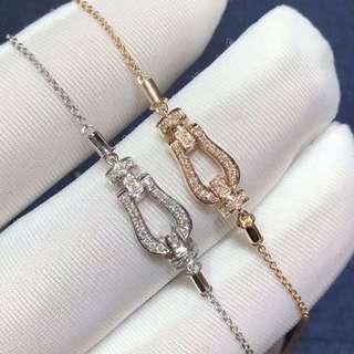 18k 鑽石手鏈💎