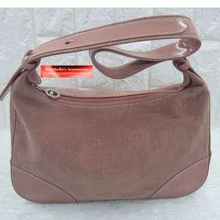 Longchamp Hobo Shoulder Bag - Coral