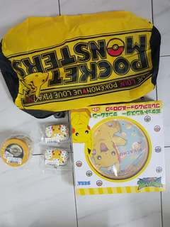 Pokemon collectible pikachu designs