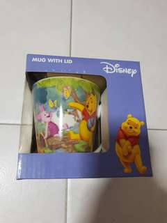 Winnie The Pooh & Friends Mug with Lid