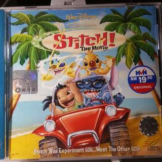 VCD - STITCH! THE MOVIE (2003) animation adventure comedy