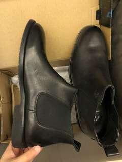 全新 polo santa barbara club size 40 men Man bootie boot 皮鞋 原價 $939