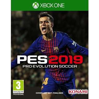 Xbox One Pro Evolution Soccer 2019 Preorder