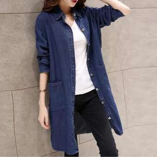 dress or jacket soft denim