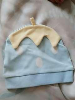 🚚 🍓新生兒藍色草莓帽🍓