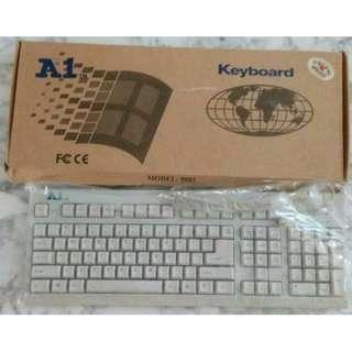Brand new A1 white keyboard
