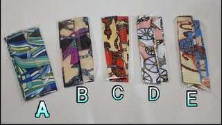 BNIB Twilly (2 pieces per design)