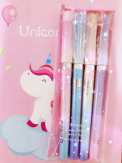 Hello Kitty Gel Pens (Blue)