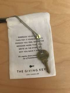 Giving key (courage)