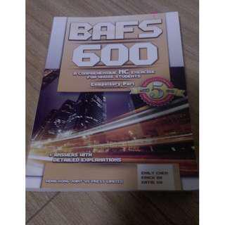 BAFS 600 (bafs paper 1 MC 練習)
