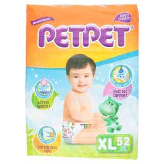 Pet Pet XL Baby Diapers. Price Cut from RM22