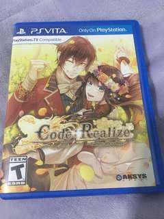 Code Realize Future Blessings ps vita
