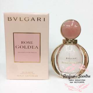 Bvlgari Rose Goldea Dubai Authentic
