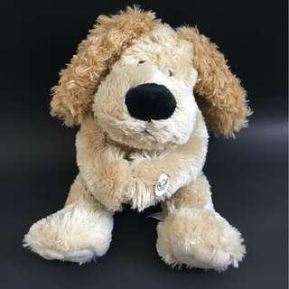 Wellington the Dog peekaboo plush