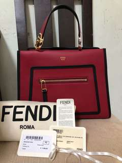 Fendi Runaway Leather Bag
