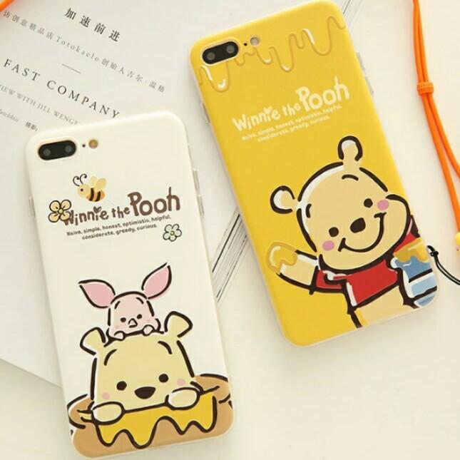 pretty nice 7bf25 36e8e ⚠ Pre-order! Cute Disney Pooh Bear and piglet theme design soft ...