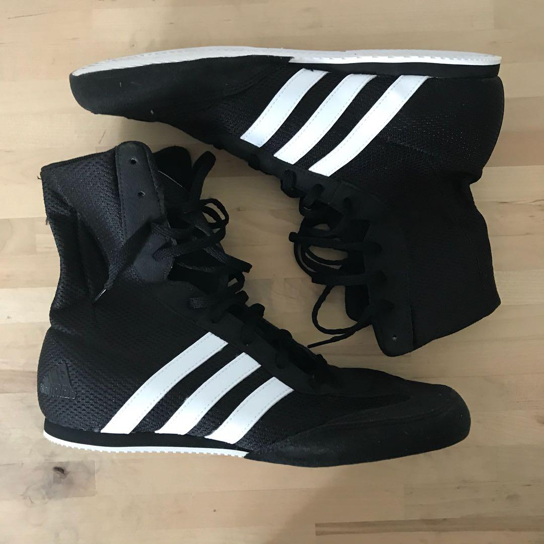 Adidas Box Hog 2 Boxing Shoes (Authentic), Sports, Sports