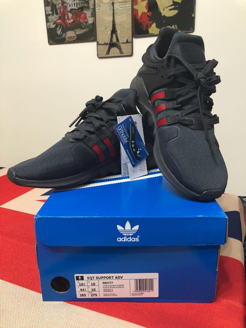 best sneakers 3832f a987e 全新現貨在台-Adidas EQT SUPPORT ADV BB6777 US10.5運動休閒鞋GUCCI配色保證正品正貨