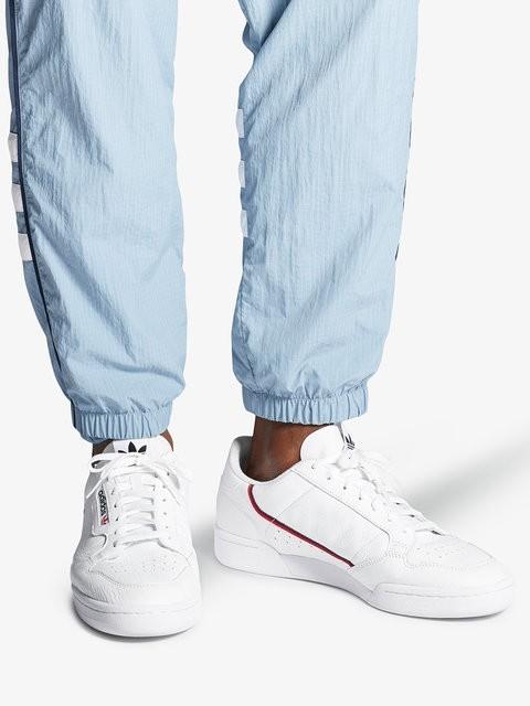 adidas schlingel continental 80 weiß scarlet (marine authentisch