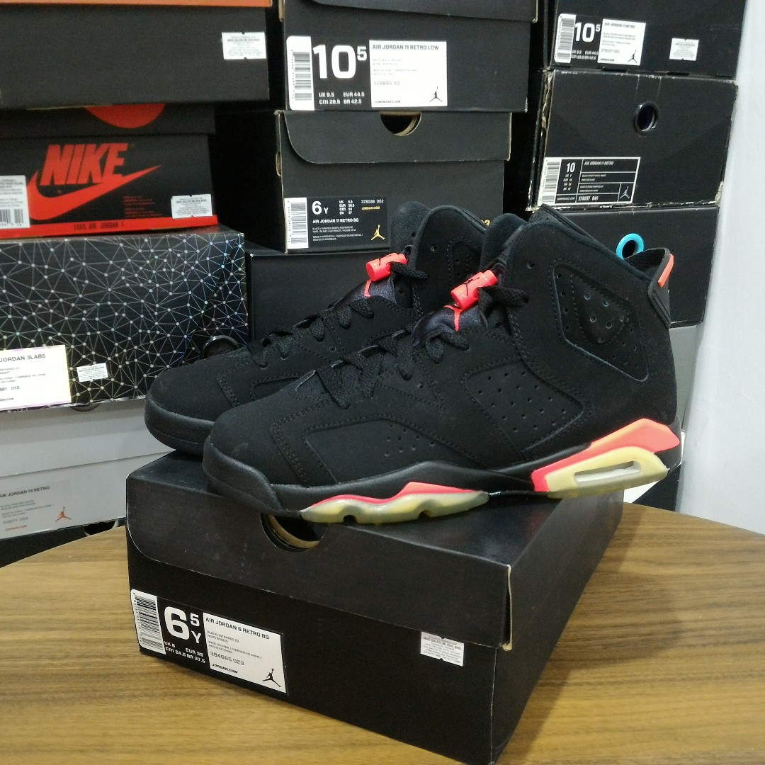 huge selection of 139cd 88549 Air Jordan 6 Infrared 6.5y, Women s Fashion, Shoes, Sneakers on ...