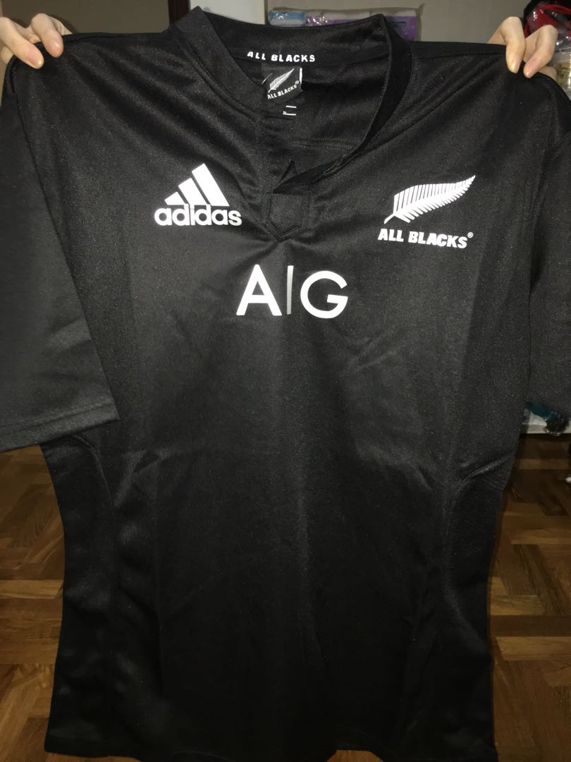 100% authentic 3ee28 e589f All Blacks Jersey