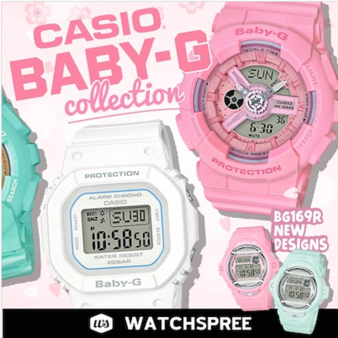 1cc059155af0 APPLY 25% OFF COUPON  CASIO BABY-G COLLECTION! Free Shipping and 1 ...
