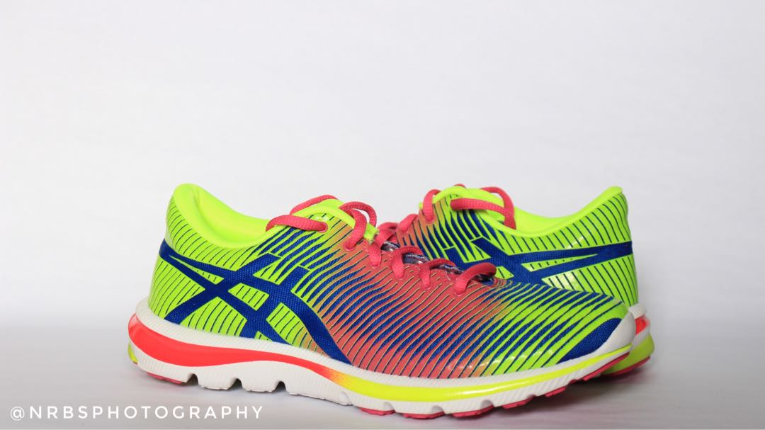 ASICS Gel Nimbus 17 Running Shoes (Neon Yellow Hot Pink) c4c72a083a