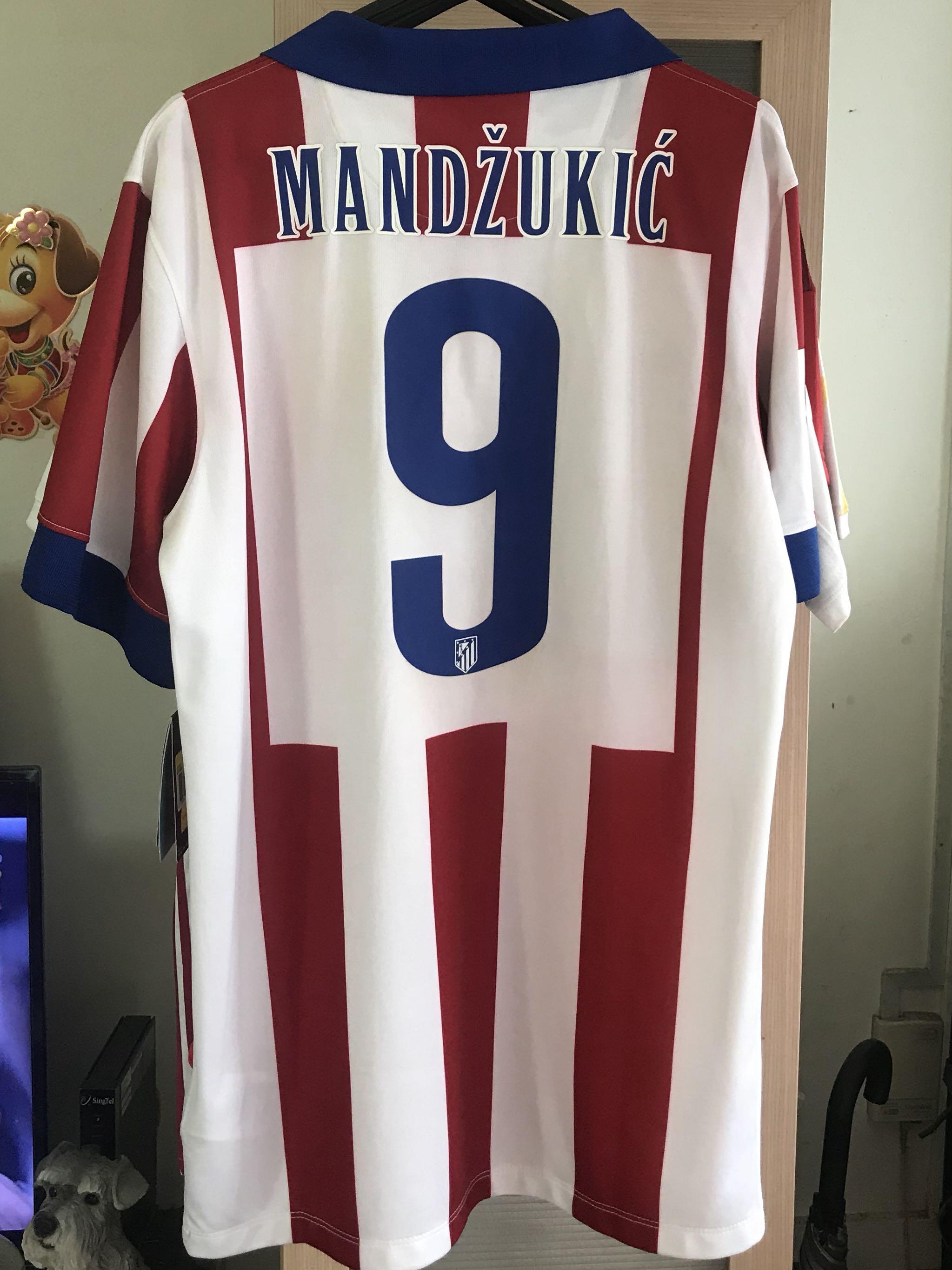 13e3d40dd Atletico Madrid Jersey Size S