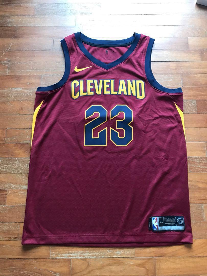ebb4c15fd8c83 Authentic LeBron James Nike NBA Jersey, Men's Fashion, Clothes, Tops ...