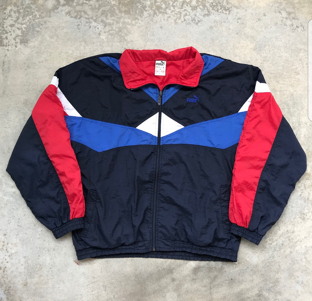 f50da6627 Authentic Vintage Puma Jacket