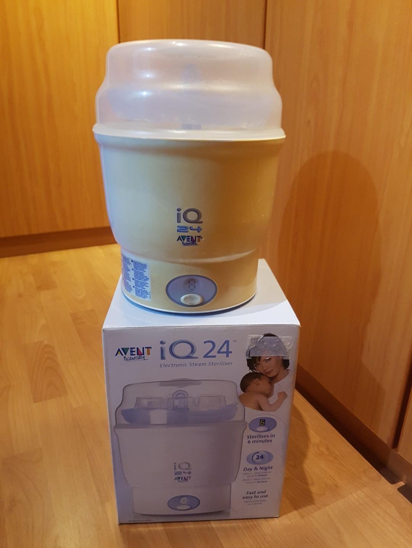 Avent Iq24 Electronic Steam Steriliser Babies Kids Nursing