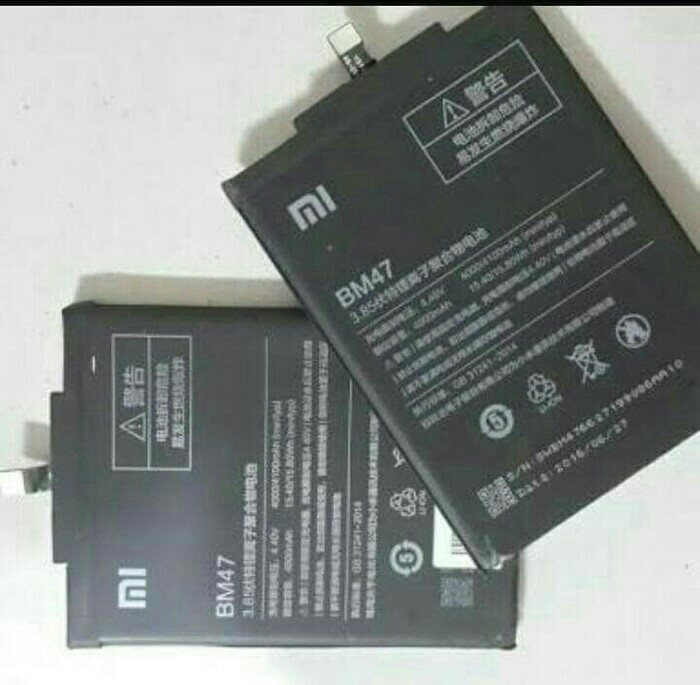Baterai Battery Xiaomi BM47 Redmi 3 / 3 Pro ORIGINAL, Mobile Phones & Tablets, Mobile & Tablet Accessories on Carousell
