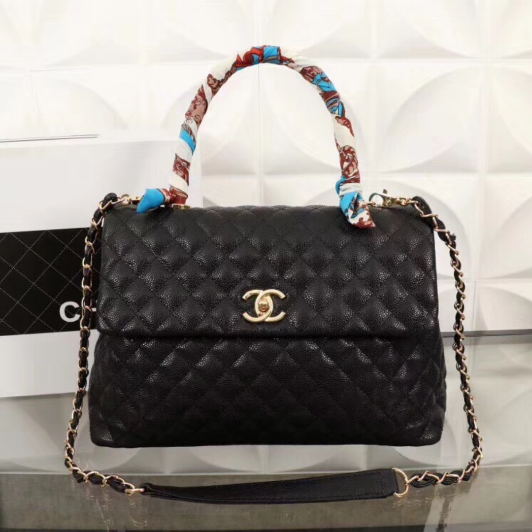 5632af77588618 Chanel Coco Handle Bag, Luxury, Bags & Wallets, Handbags on Carousell