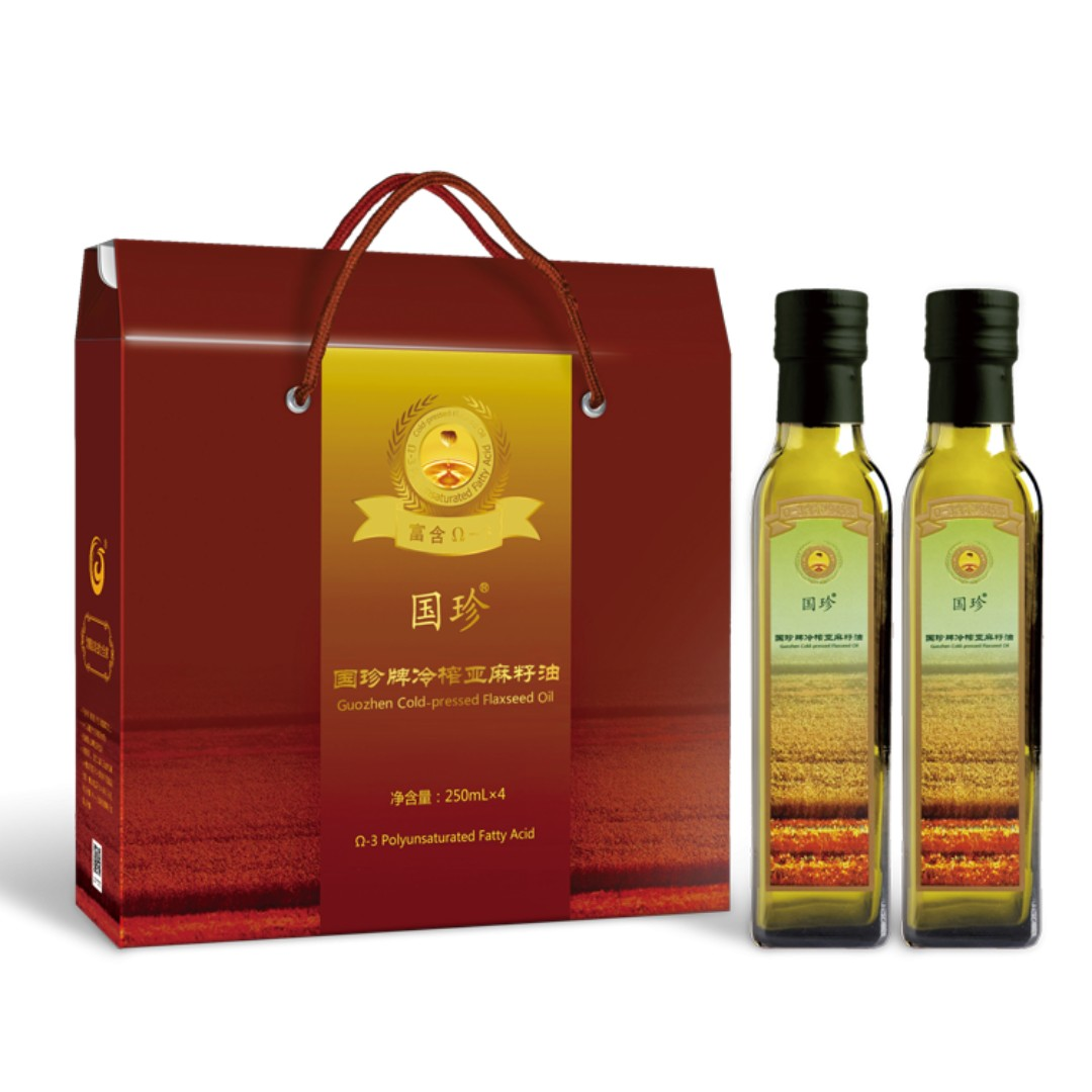 Cold Pressed Flaxseed Oil 250 Ml X 4 Bottle Box Health Beauty Cussons Imperial Leather Body Wash White Princess Bath On Carousell
