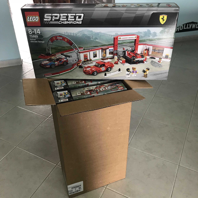 DEREK\u003e Lego Speed Champions Ferrari Ultimate Garage 75889