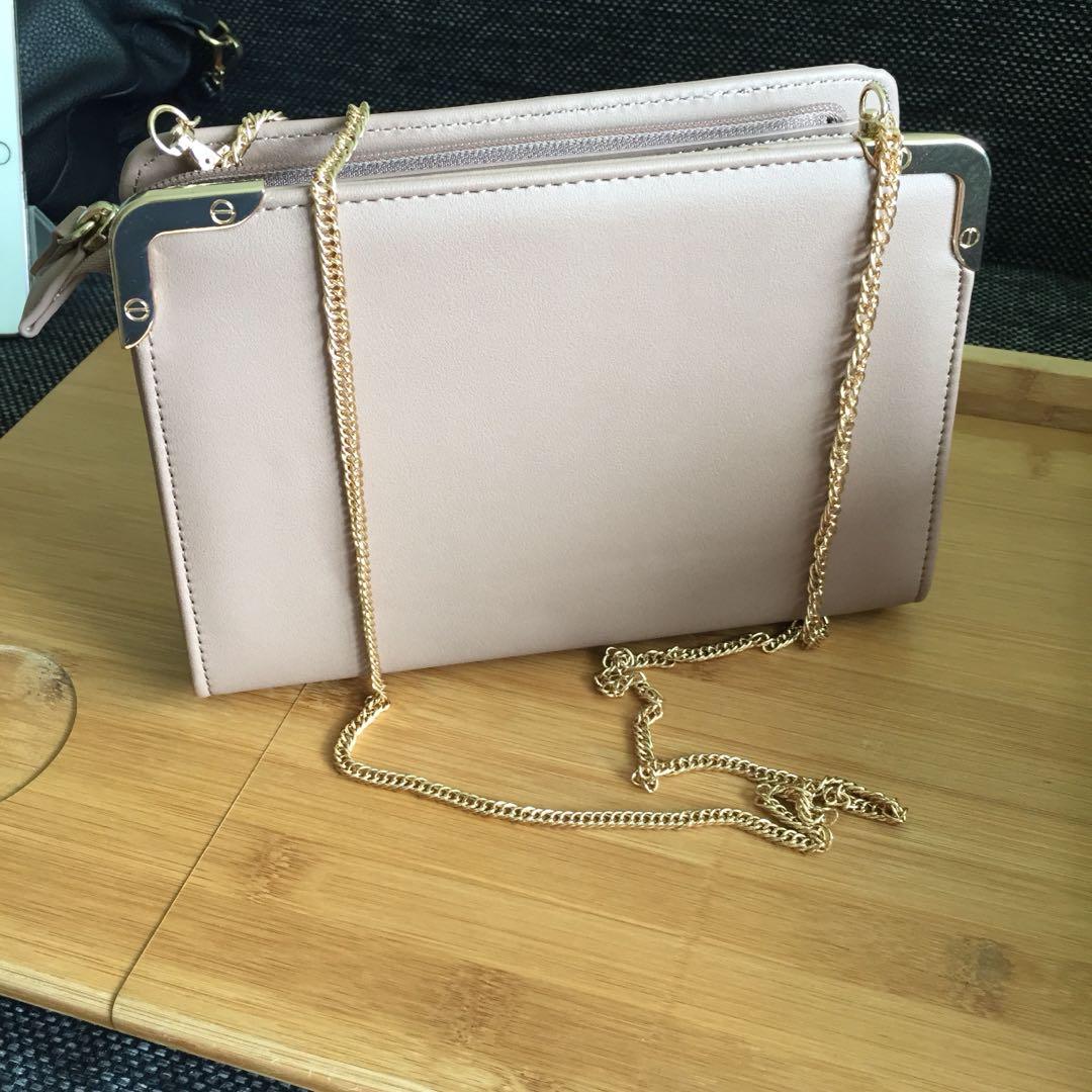 3a6f57224941 Dorothy Perkins Blush Shoulder Bag, Women's Fashion, Bags & Wallets ...