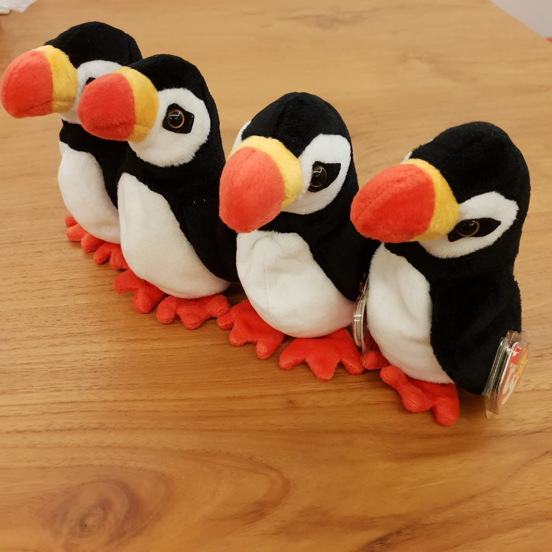1 left. GENUINE TY BEANIE BABY - Puffer The Puffin bird. Brand new ... 9215716a70f8