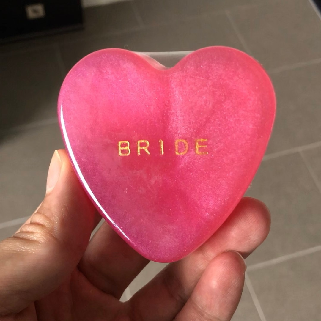 Heart-Shaped handmade soap as gift/wedding favours, Design & Craft ...