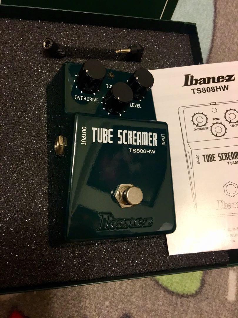 Ibanez Tube Screamer TS808HW handwired